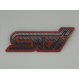Carbon STI Emblem