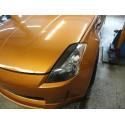 Scheinwerferblenden Carbon Nissan 350Z
