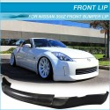 Frontspoilerlippe PU INGS Style Nissan 350Z 2003 bis 2005