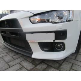 EU Nummerhalter und Blende ABS vorne Mitsubishi Lancer