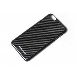 Iphone 6 echt Carbon Cover mit Mercedes AMG Logo