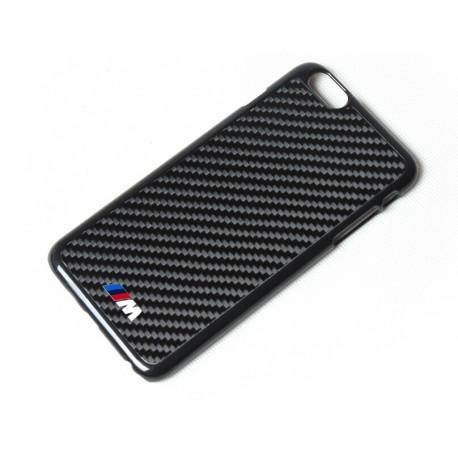 Iphone 6 echt Carbon Cover mit BMW M Logo