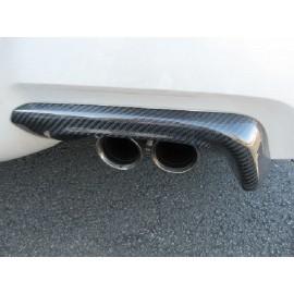 Carbon Auspuff Hitzeschild Subaru Impreza STI 2011-