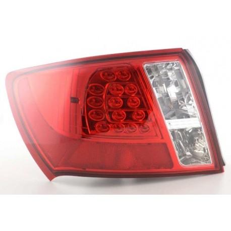 LED Heckleuchten Klarglas Rot Subaru Impreza WRX STI ab 2011