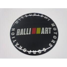 Mitsubishi RALLI ART Radnabenabdeckungen