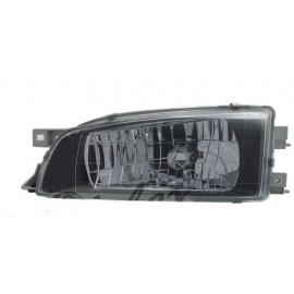Original Scheinwerfer links Subaru Impreza 1998-2000 Schwarz