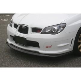 Carbon Frontspoilerlippe STI Subaru Impreza 2006-2007