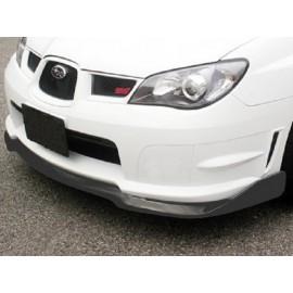 Carbon Frontspoilerlippe CS Style Subaru Impreza WRX STI 2005-2007