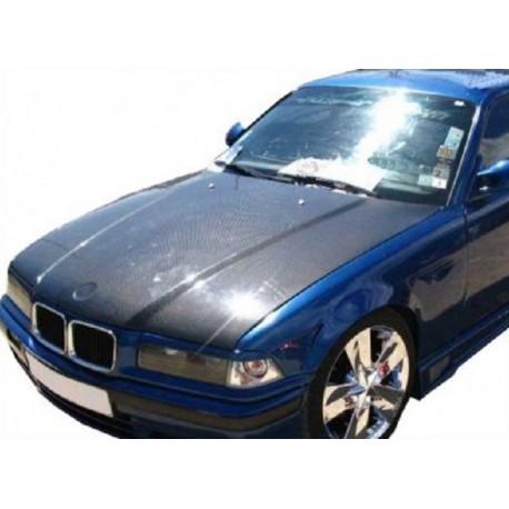 Carbon Motorhaube BMW E36 OEM Style 4 Tür