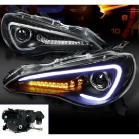 LED Scheinwerfer Toyota GT86 schwarz