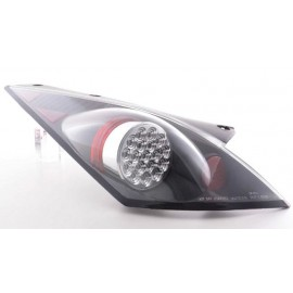 Nissan 350Z LED Heckleuchten Klarglas schwarz