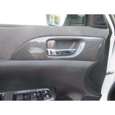 Abdeckungen Carbon Türgriffe innen Subaru Impreza WRX STI ab 2007