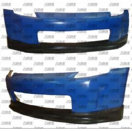 PU Frontspoilerlippe V Style Nissan 350Z 2003 bis 2005