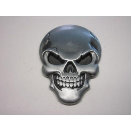 Totenkopf Emblem 3D Metal