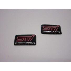 STI Subaru Technica International Emblem