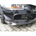 Carbon Luftführungen Frontstange Mitsubishi EVO 9