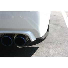 PU Lippen Stange hinten Subaru Impreza WRX STI 2011-