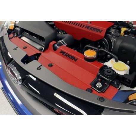 Subaru Impreza WRX STI 2007-2014 PERRIN Kühlleitblech Rot