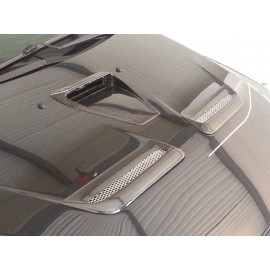 Carbon Lufthutze grob Motorhaube Mitsubishi EVO 10