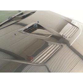 Carbon Lufthutzen fein Motorhaube Mitsubishi EVO 10