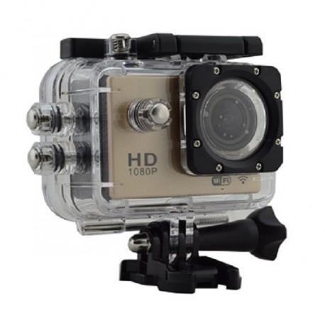 """Action-Cam 2"""" Bildschirm - Wi-Fi mit Full-HD 1080p Auflösung Wasserdicht bis 30m"""
