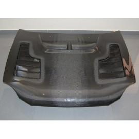 Carbon Motorhaube CW II Style Subaru Impreza WRX STI 2001-2002