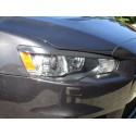Scheinwerferblenden ABS Mitsubishi Lancer und EVO mit Gutachten