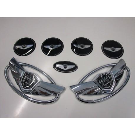 Emblem Hyundai Genesis Set