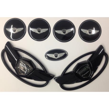 Emblem Hyundai Genesis Set Chrom