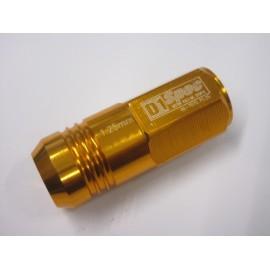 D1 Spec Radmuttern Lug Nuts Gold
