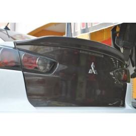 Duck Tail Spoileransatz Carbon Mitsubishi Lancer und EVO 10