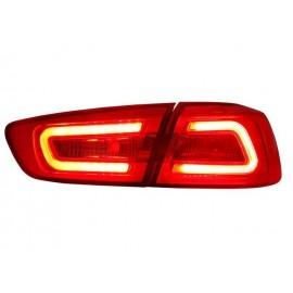 Heckleuchten NEW LED Audi Style schwarz Mitsubishi Lancer und EVO 10
