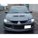 ABS Frontspoilerlippe R Style Mitsubishi EVO 8