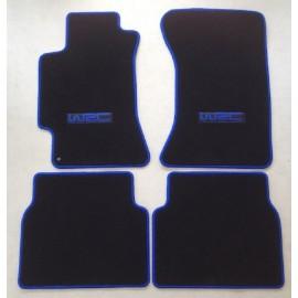 Subaru Impreza Autoteppiche Farbe und Logo nach Wahl
