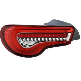 Heckleuchten LED Sequentiell Toyota GT86 rot