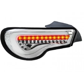 Heckleuchten LED Sequentiell Toyota GT86 chrom