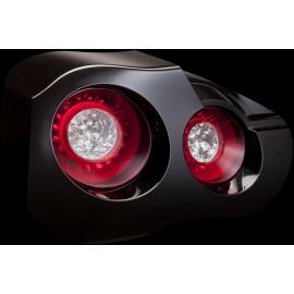 LED Heckleuchten rot-chrom Nissan R35 GT-R