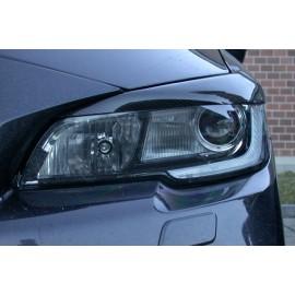Carbon Scheinwerferblenden Subaru Impreza 2014- inkl. Gutachten
