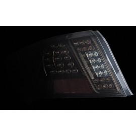 Full LED Heckleuchten Schwarz Subaru Impreza WRX STI 2011-2014