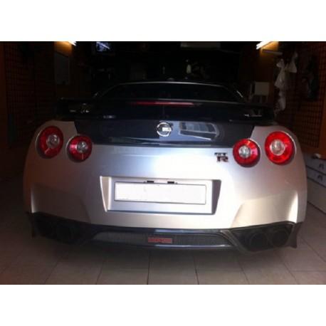 Carbon Heckansatz Nissan GT-R