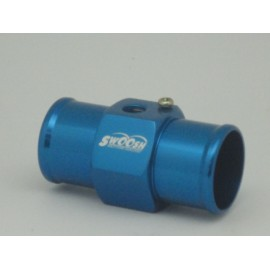 Wassertemperatur Adapter in blau