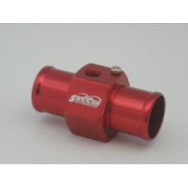 Wassertemperatur Adapter in rot