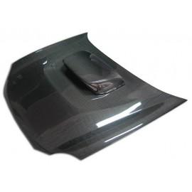 Carbon Motorhaube mit Hutze Subaru Impreza WRX STI 2001-2002