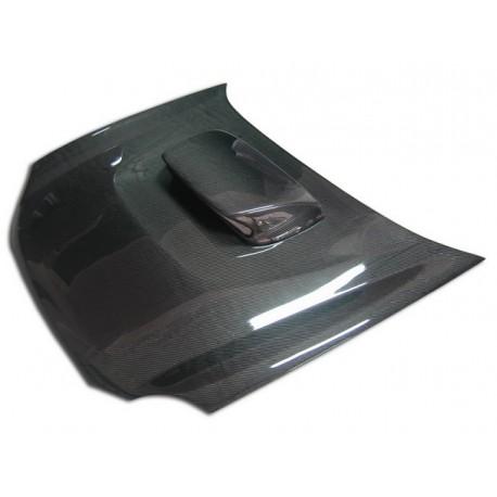 Carbon Motorhaube mit Hutze Subaru Impreza WRX-STI 2001-2002