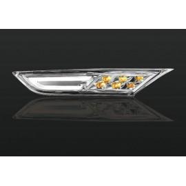 LED Seitenblinker chrom R35 Nissan GT-R