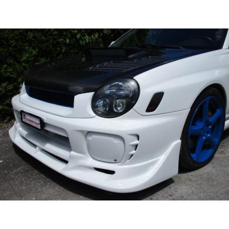 Frontspoilerlippe C-West Style ABS Subaru Impreza WRX STI 2001-2002