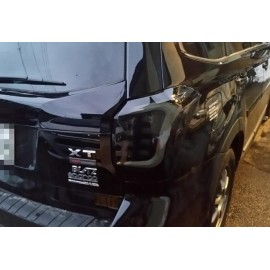 LED Heckleuchten Black Smoke Subaru Impreza 2014-