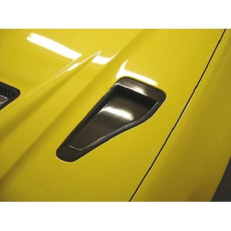 Carbon Lufteinlass Motorhaube Mitsubishi EVO 7