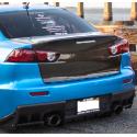 Duck Tail Carbon Heckdeckel Mitsubishi Lancer und EVO 10