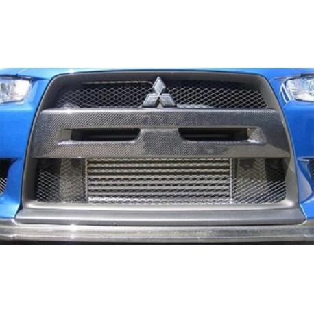Carbon Abdeckung Frontstange Mitsubishi EVO 10
